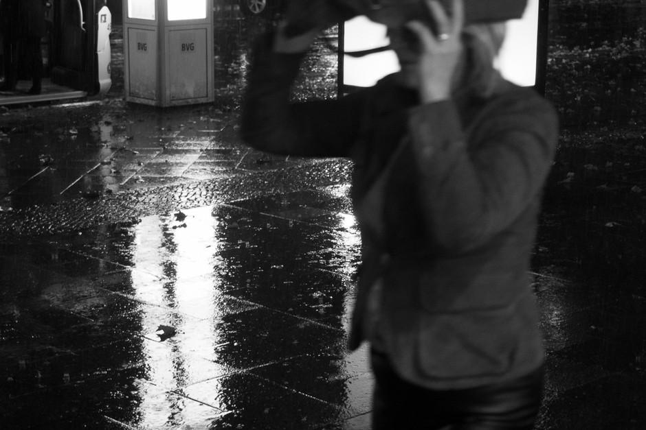 Escaping the rain