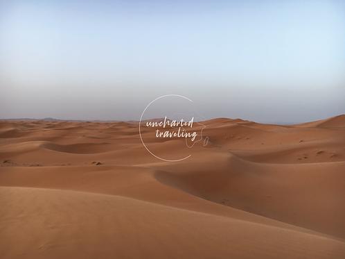 Sahara at Dawn - Sahara Desert, Morocco