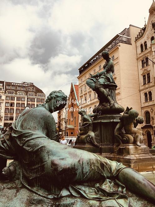 Providentia Fountain - Vienna, Austria