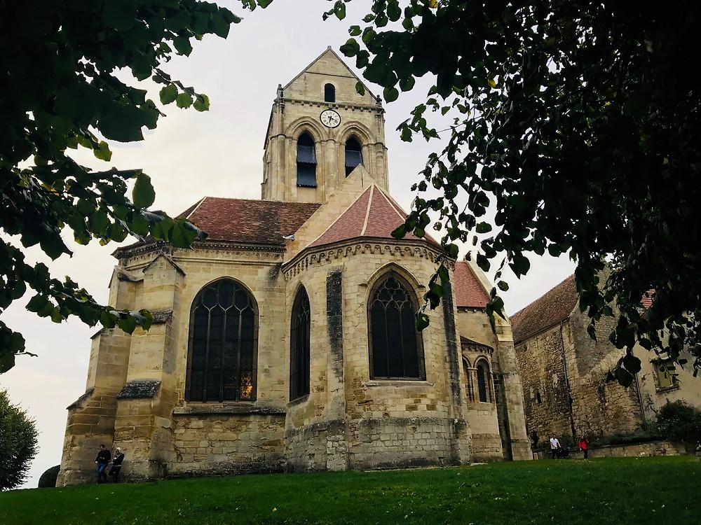 Van Gogh's Church at Auvers