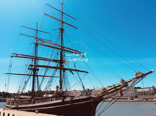 Sailing Ship - Helsinki, Finland