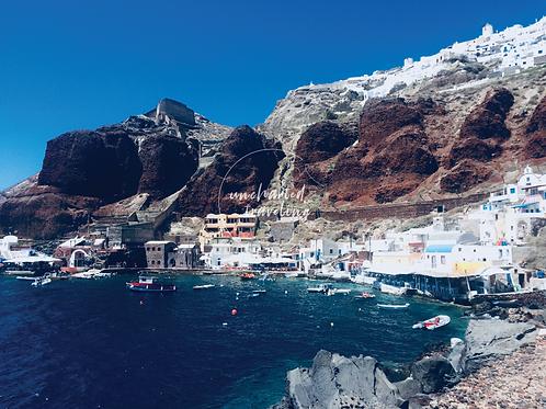 Amoudi Bay - Santorini, Greece