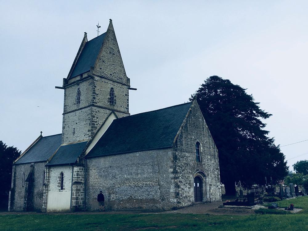 church-angoville-au-plain-normandy