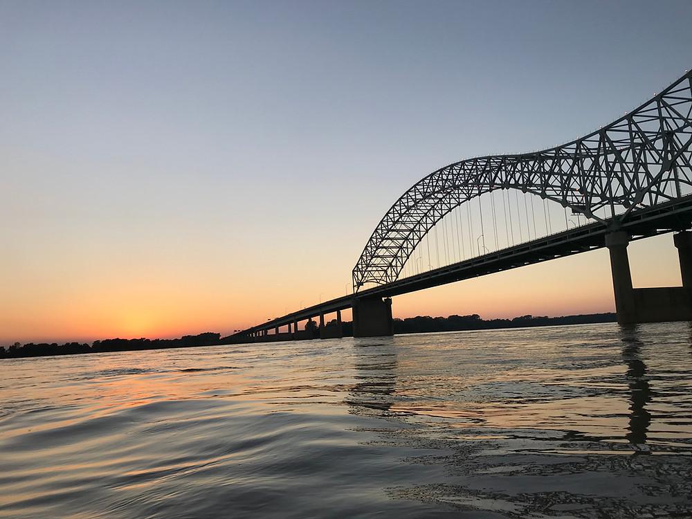 memphis-bridge-sunset