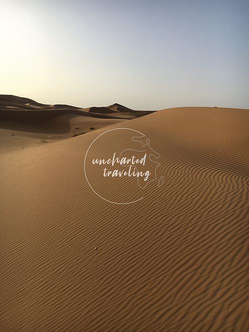 Waves of Sand - Sahara Desert, Morocco