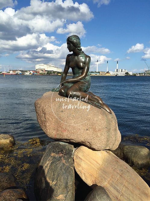Little Mermaid Statue - Copenhagen, Denmark