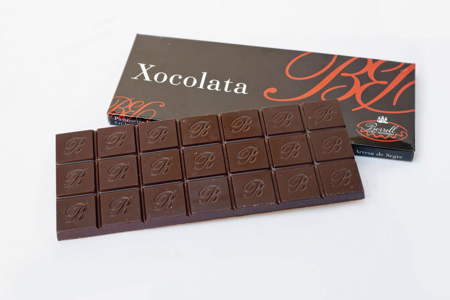Xocolata negra del 70%