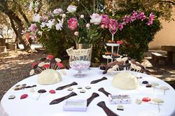 Detalls de boda de xocolata