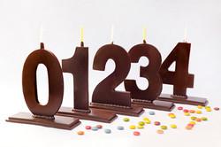 Espelmes de xocolata