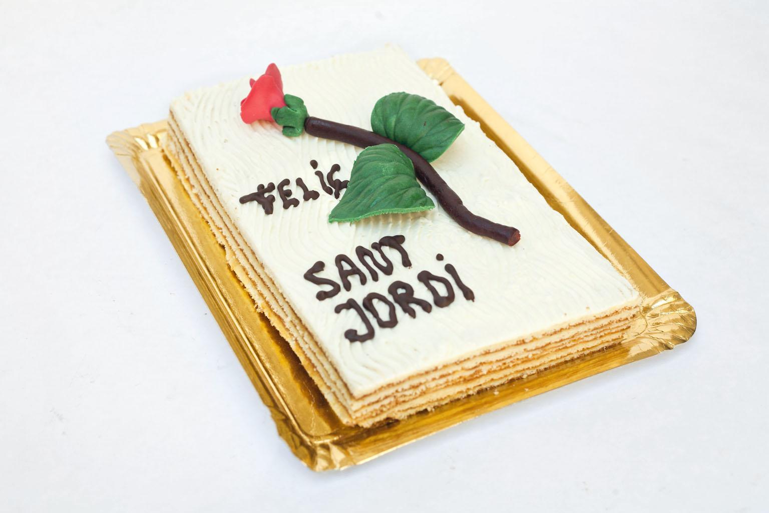 Pastís de Sant Jordi