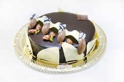 Mousse de tres xocolates