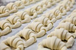 Procés d'elaboració de croissants