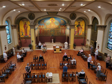 Feast of St. Benedict and Jubilee Mass