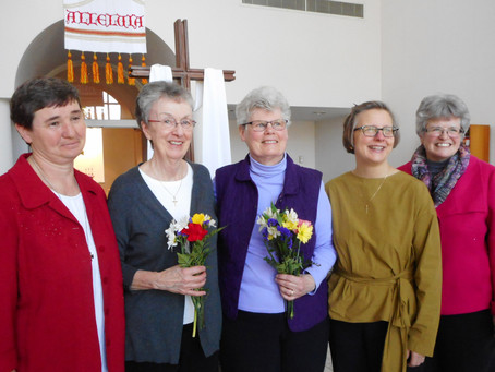 Sister Susan Quaintance, OSB, Facilitates Prioress Election