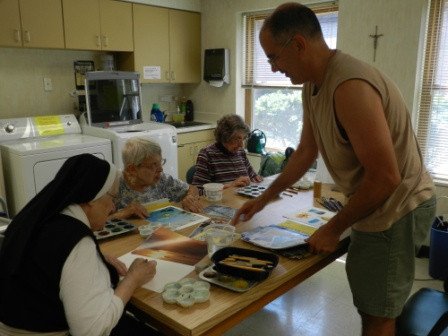 Benedictine Oblate Shares the Sacred