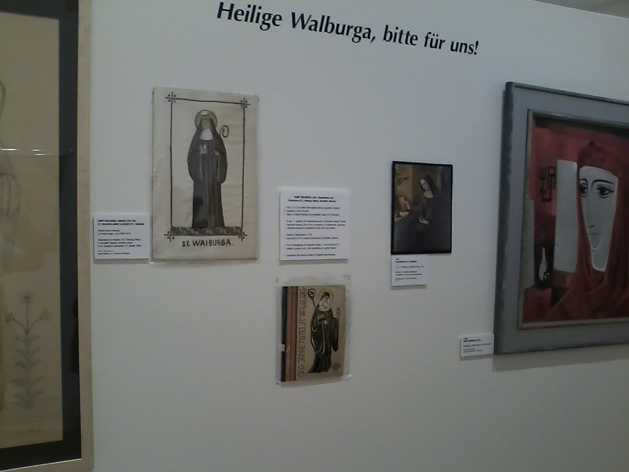 St. Scholastica and St. Walburga