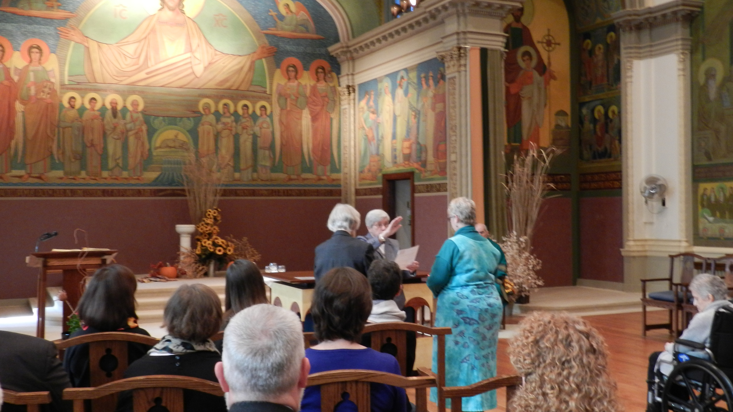 Oblate candidate Barbara Wahler