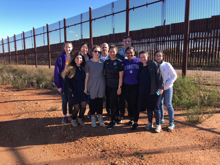 Service-Learning Trip to Mexico-Arizona Border with Sister Belinda Monahan, OSB