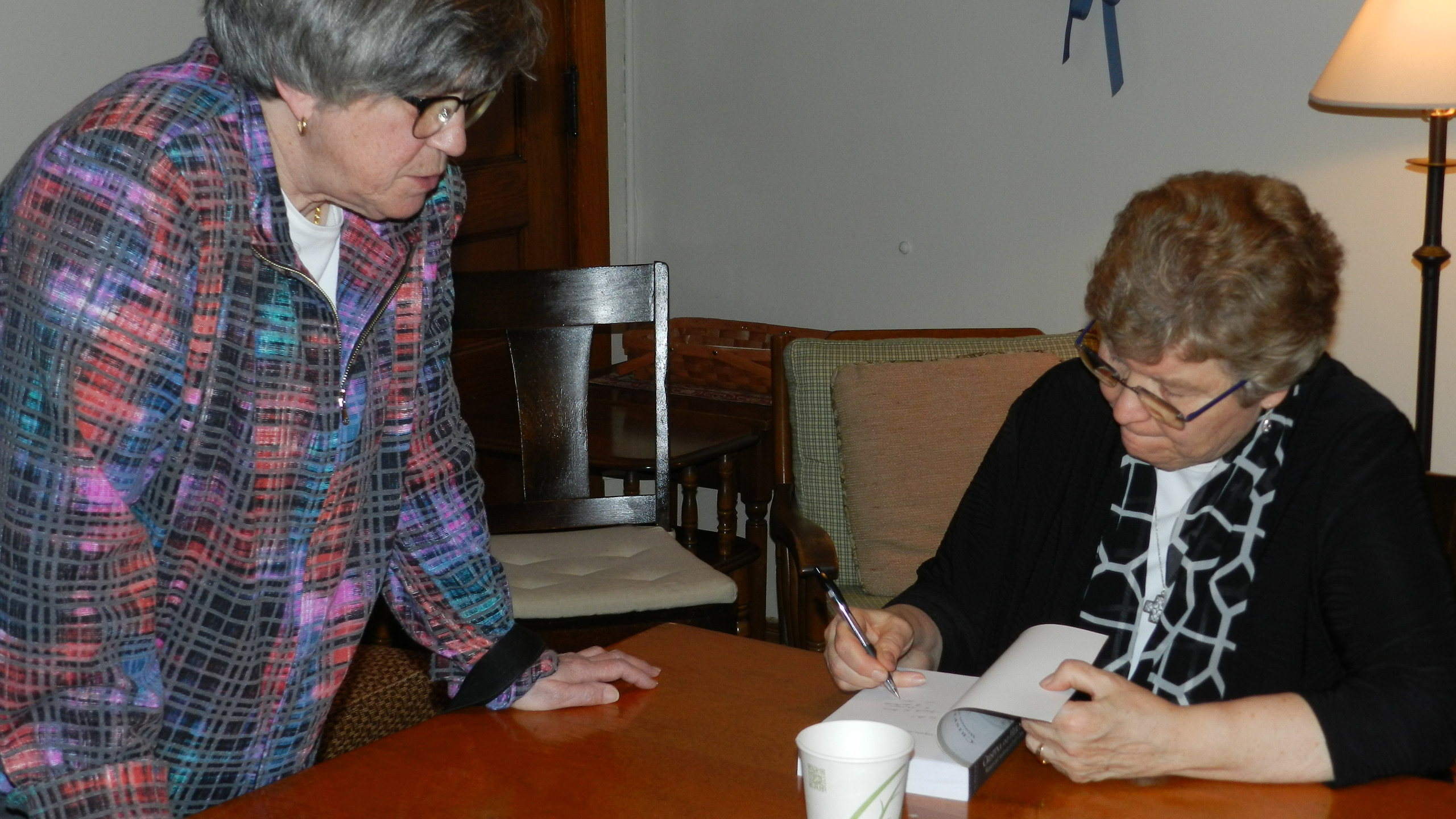 Oblates host award-winning author