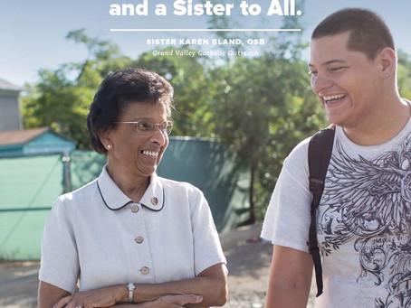 Sister Karen is a #SisterToAll.