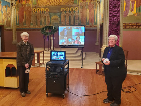 Virtual Oblation-Welcome New Oblates!