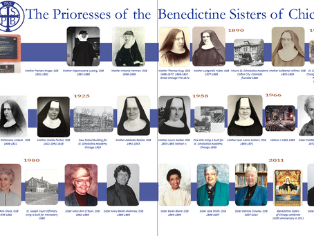 1861 to the Present: The Prioresses of the Benedictine Sisters of Chicago