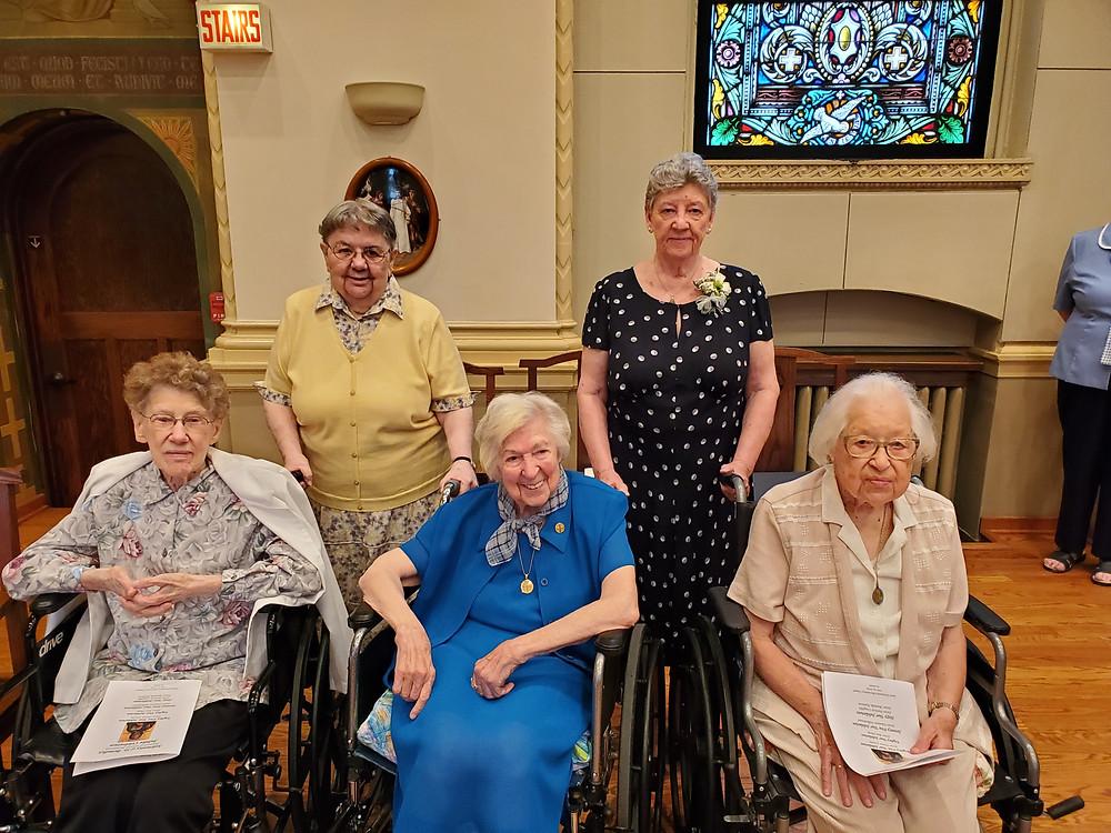 2019 Benedictine Sisters of Chicago Jubilarians