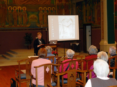 Oblates Host Award-Winning Author at Monastery