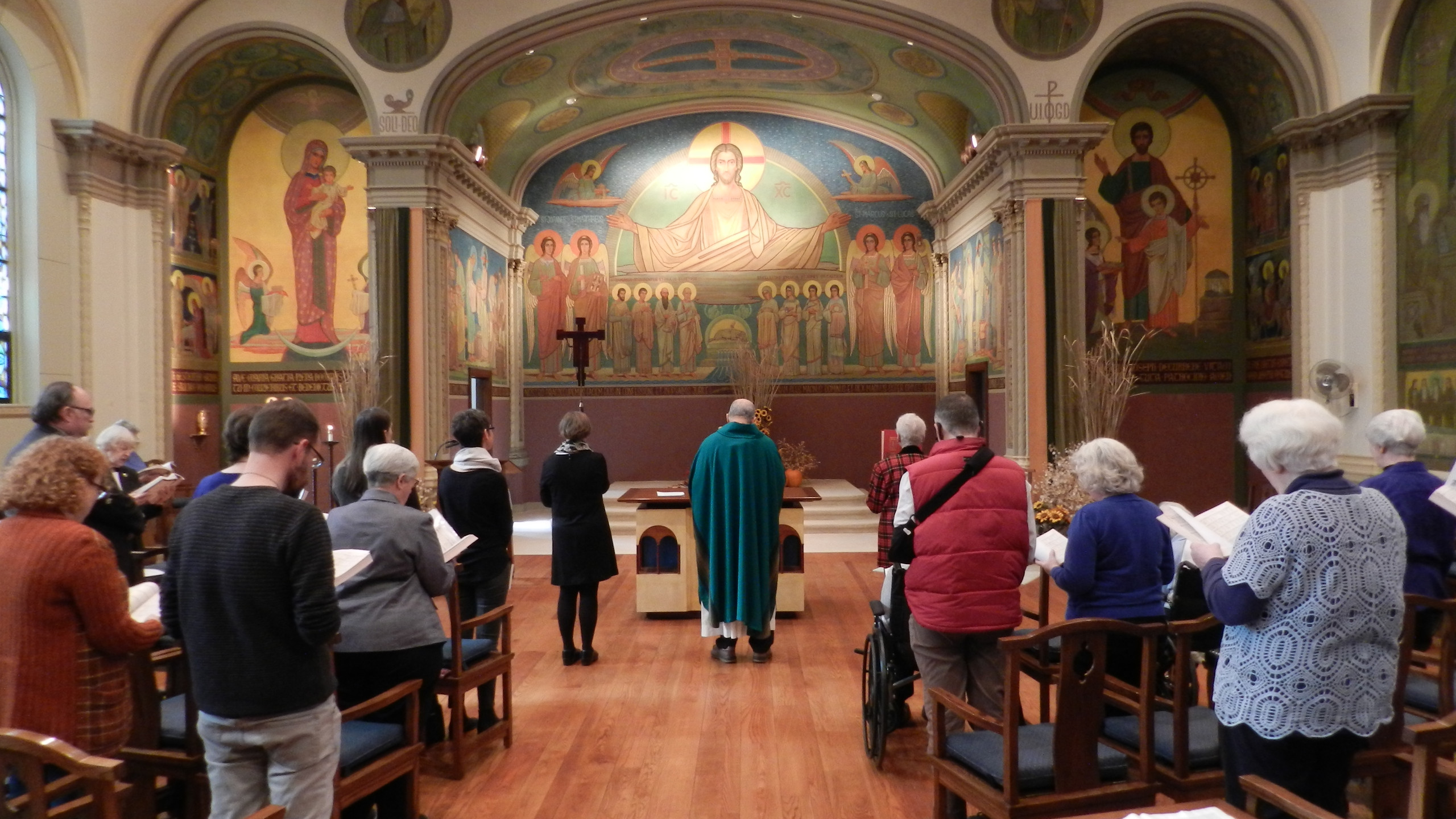 Nov. 11 Eucharistic Liturgy.