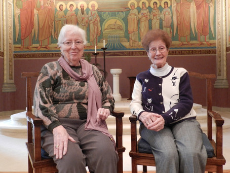 Welcome home Sisters Joan & Johnette!