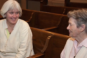 Sister Virginia Talks with Sister Kathleen