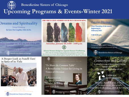 Upcoming Programs & Events-Winter 2021