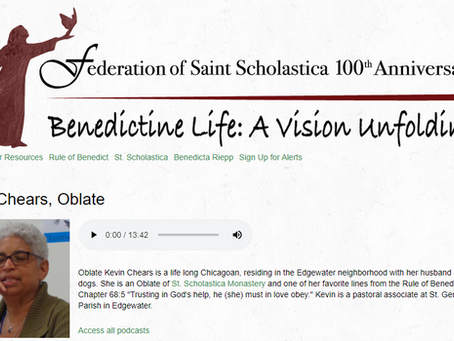 Featured Podcast: Kevin Chears, Oblate