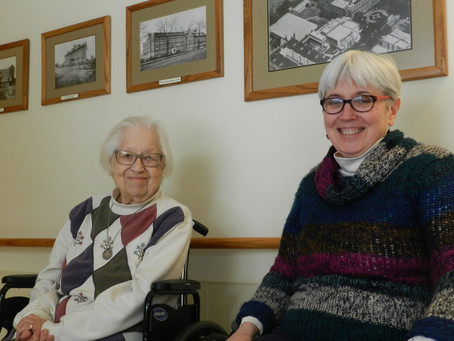 Sister Vivian & Sister Virginia reflect on community history