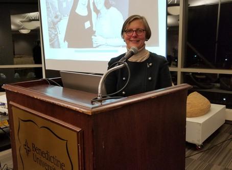 Sister Susan Quaintance, OSB Speaks on Monasticism of the Future at Benedictine University