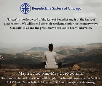 May 2021 _Listen_ Discernment Weekend.pn