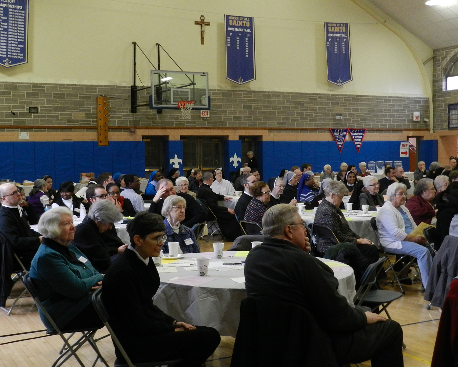 Crowd at Celebration of Consecrated Life Day