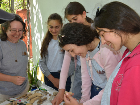 Adventures of Archaeologist Sister Belinda Monahan, OSB in Armenia