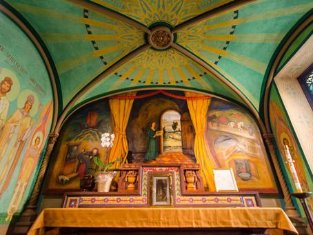 St. Walburg-Virgin and Abbess