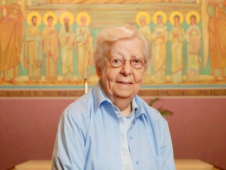 Remembering Sister Mary Frances Schermerhorn, OSB