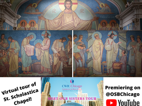 Virtual Chapel Tour for the 2020 Meet Our Sisters Tour