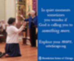 Benedictine ad on National Catholic Reporter