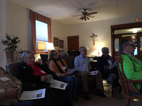Fruitful Advent Afternoon of Reflection for Oblates