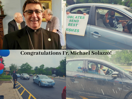 Oblates and Sisters Celebrate Fr. Mike's Retirement!