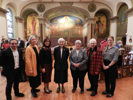 Welcoming New Oblates