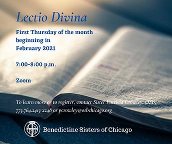 LectioDivina Feb 2021 Sister Patricia Cr