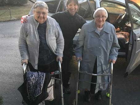 At 96 Sister Victoria Plans A Road Trip