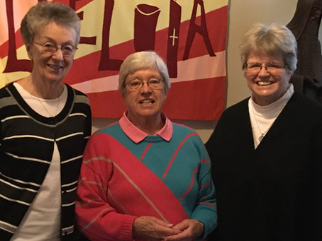 Reelection of Prioress Sister Judith Murphy, OSB