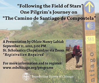 """Following the Field of Stars"" One Pilgrim's Journey on  ""The Camino de Santiago de Compos"
