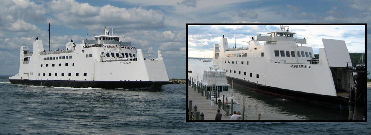 300' Passenger Vehicle Ferry